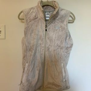 North Face Fuzzy Vest
